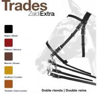 Trades T+T double bridle by Zaldi